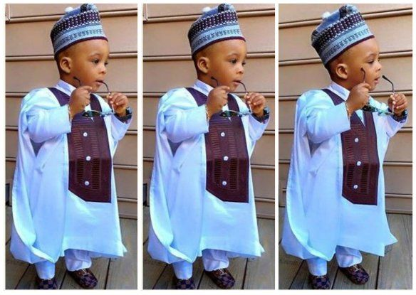 Agbada Styles for Baby Boys