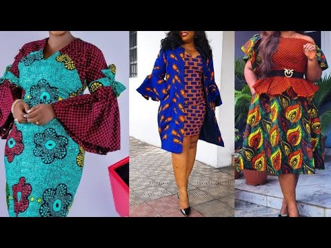 Ankara Mix and Match Styles for Ladies